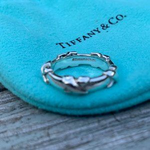 RETIRED Tiffany & Co X Band Ring